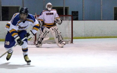 UCSB students bring ice hockey to IV
