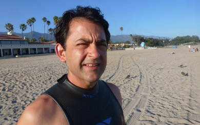 Prelude to the SB Triathlon: New jock Romo ready to give it a 'Tri'