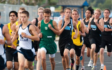 DP is leader of the pack in CIF Division 2 cross country