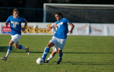 David steps into the attack for Gauchos in 2-0 win