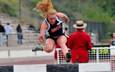 Mayer sets meet record on first day of Easter Relays
