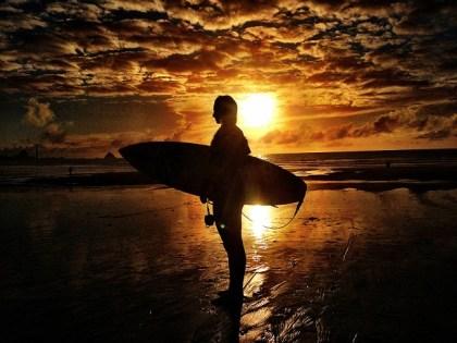 Lakey Peterson Sunset