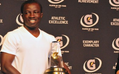 Cate's Boateng is Gatorade National Soccer Player of Year