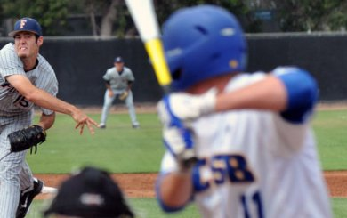 Series win over Fullerton slips away for Gauchos