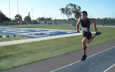Jimenez heads to national JOs in two events