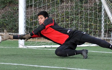 Carpinteria goalkeeper Joey Gamez