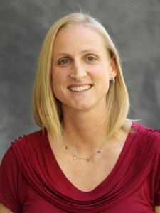 Westmont women's basketball coach Kirsten Moore