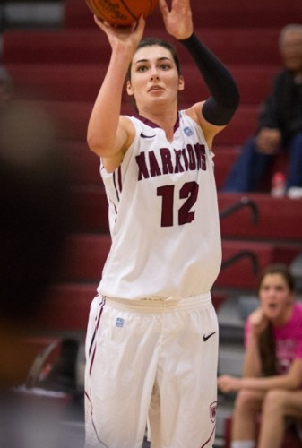 Westmont's Tugce Canitez is the reigning NAIA National Player of the Year and competed in last year's Olympic Games.