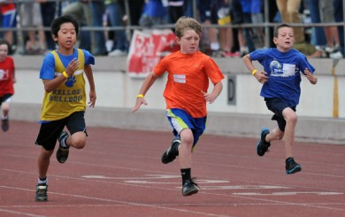 Hundreds compete at SB County's Youth Track and Field Championships