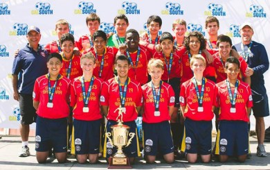 SBSC U-15 boys continue tradition as Cal South Champs