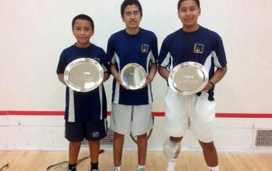 SB School of Squash sends three to junior nationals