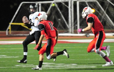 Late turnovers doom Bishop Diego in 42-28 loss to Oak Park