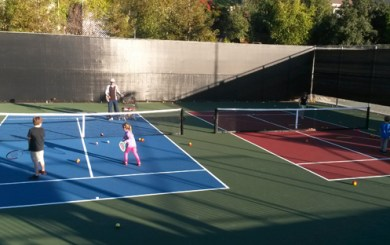 Cathedral Oaks introduces tennis program for pre-schoolers
