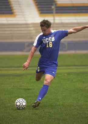 Former UCSB star Rob Friend signed with the L.A. Galaxy.