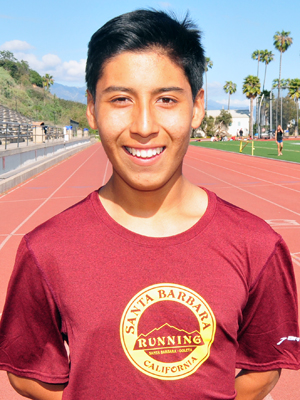 Santa Barbara High's Gustavo Bello