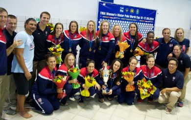 Locals lead U.S. to women's water polo World Cup title