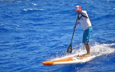 Have board will travel: Matt Becker logs miles for SUP, big-wave surfing