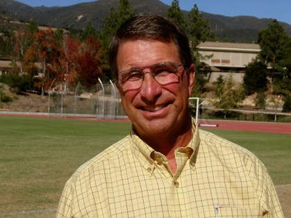 Westmont's faculty member and athletics coach Russell Smelley