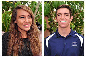 Athletes of the Week: Stephen McCaffery and Adilene Aldapa