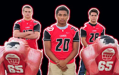 All-City Football Team led by Bishop Diego trio