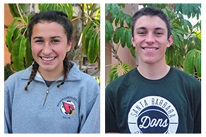 Dons' Brace, Giannini of Bishop earn Athlete of the Week honors