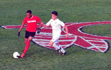 BSoc: Warriors take control of Centennial in 2nd half