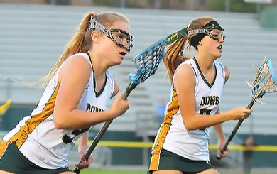 LAX: Barton, Gniadek lead Dons past Chargers, 12-6