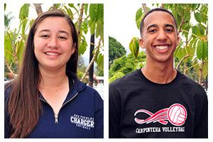 Athletes of the Week: Jade Sinskul and Mason Picerni