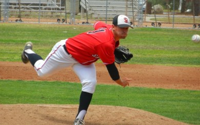 CBB: Bruce keeps SBCC season alive with a two-hit shutout