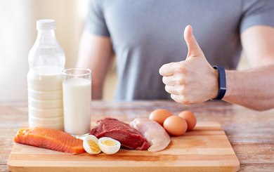 Nutrition for Athletes: Power up with Protein