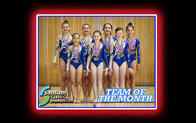 Team of the Month: Spirals take routines to new level