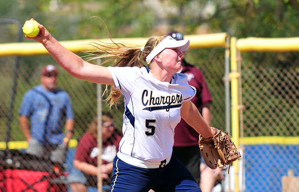 Dos Pueblos' Veronika Gulvin was a dominant pitcher and slugging first baseman for the Chargers.
