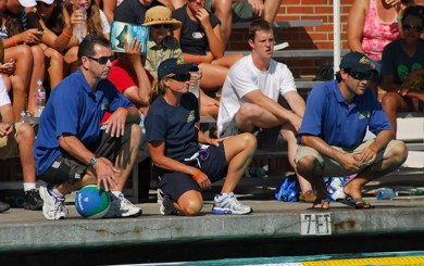 Cathy Neushul shines as youth water polo coach