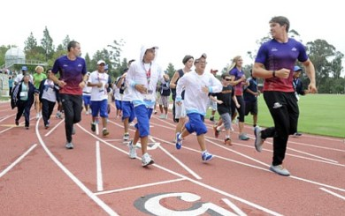 Santa Barbara sends off Special Olympics World Games athletes