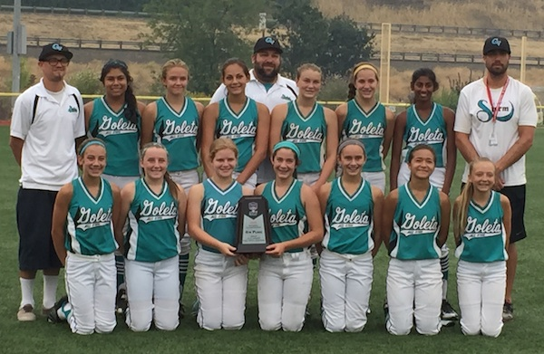 The Goleta Thunder 12U Gold finished fourth at the ASA Western Nationals in Medford, Ore.