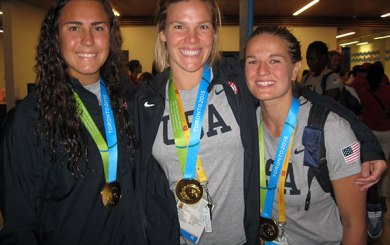 Pan American Games: SB locals win gold in water polo, volleyball