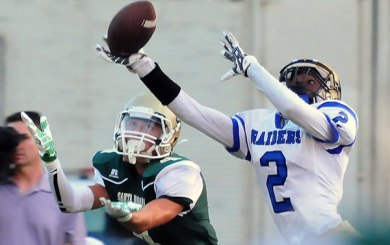Dons receivers put on a show in 52-7 romp over Channel Islands