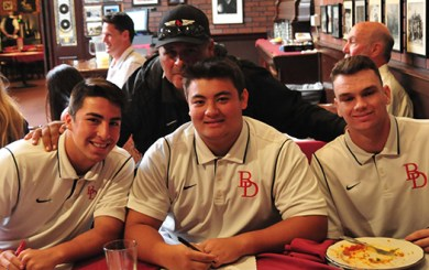 SBART Press Luncheon: Pranksters are out before big games