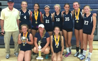 Marymount spikers win Oxnard Junior ToC