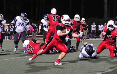 Soracco, special teams fuel Bishop Diego's win