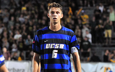 MSoc: DePuy notches two more in Gaucho win