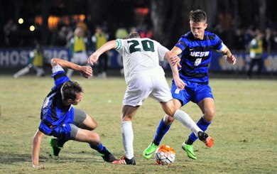 MSoc: Cal Poly's late magic ties Gauchos