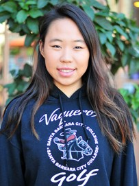Carolin Chang led SBCC to the state golf title.