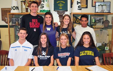 Santa Barbara High's next-level athletes
