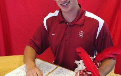 DP's Eli Wopat signs to play volleyball at Stanford