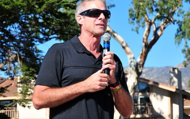 East Beach volleyball court dedicated to Karch Kiraly