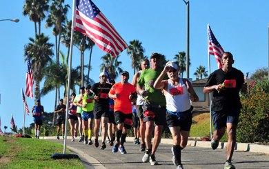 Marube, Couch pace Santa Barbara Veterans Day Half-Marathon