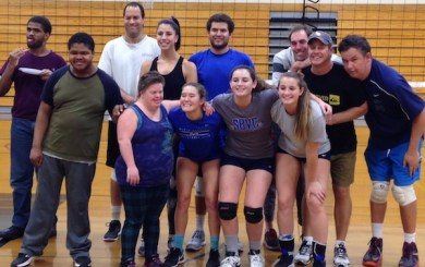 Volleyball returns to SB Special Olympics