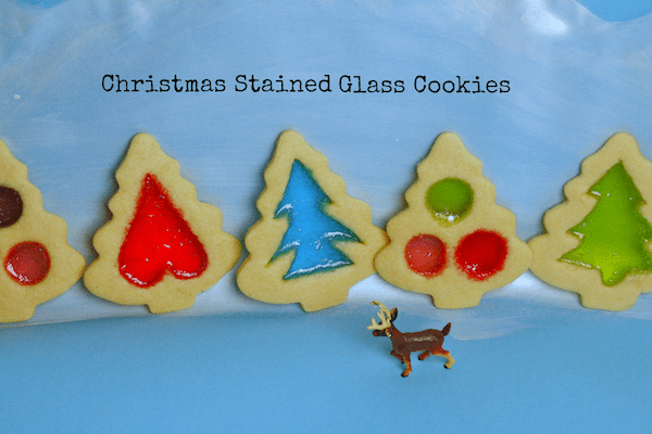 Christmas Stained Glass Cookies