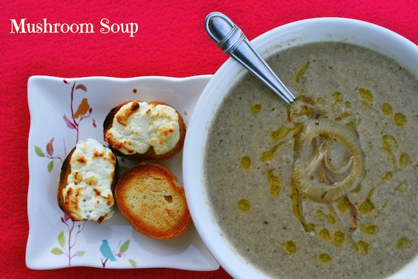 Mushroom Soup – Plant Powered Vitamin D!